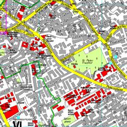 Karte Graz.Stadtplan Graz